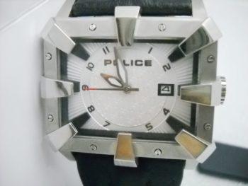 orologio police acciaio
