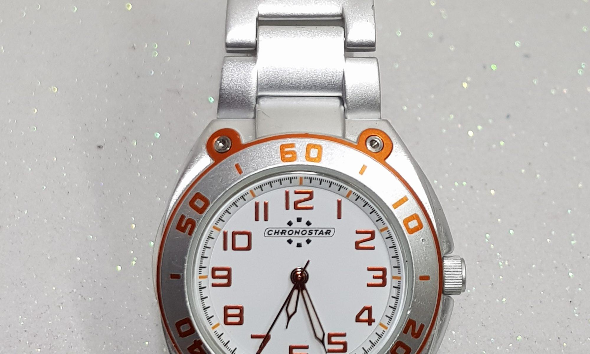 Orologio Cronostar Alluminio