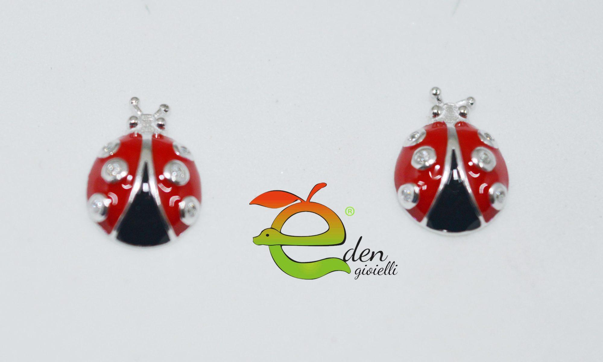 Orecchini Coccinella Eden Gioielli