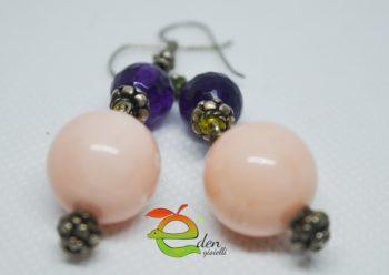 Orecchini Pink Violet Eden Gioielli Aversa
